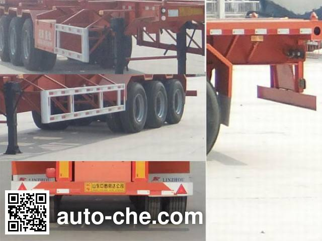 Linzhou YDZ9400TJZ container transport trailer