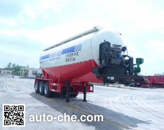 Linzhou YDZ9401GXH ash transport trailer
