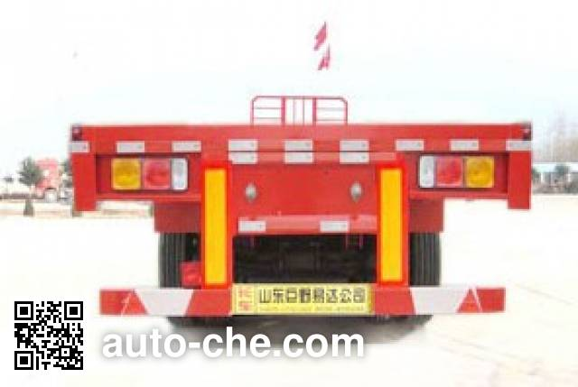 Linzhou YDZ9401TPB flatbed trailer
