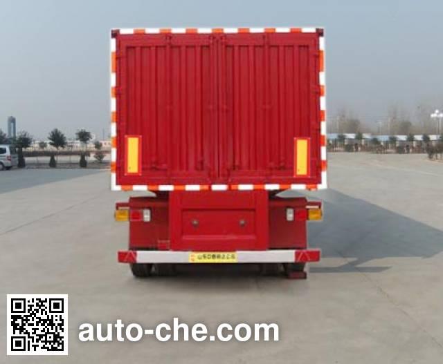 Linzhou YDZ9401XXY box body van trailer