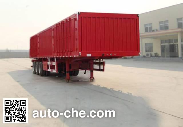 Linzhou YDZ9403XXY box body van trailer