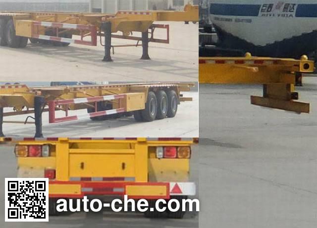 Linzhou YDZ9403TJZ container transport trailer
