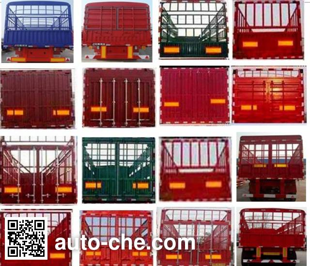 Linzhou YDZ9406CCY stake trailer