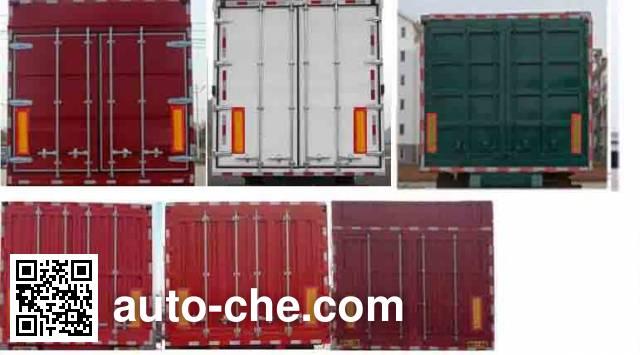 Linzhou YDZ9403XXYP box body van trailer