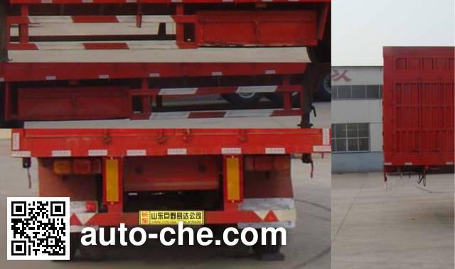 Linzhou YDZ9404XXY box body van trailer