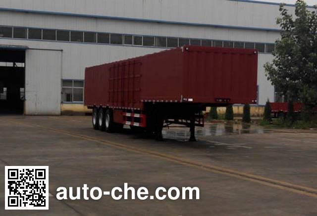 Linzhou YDZ9404XXYE box body van trailer