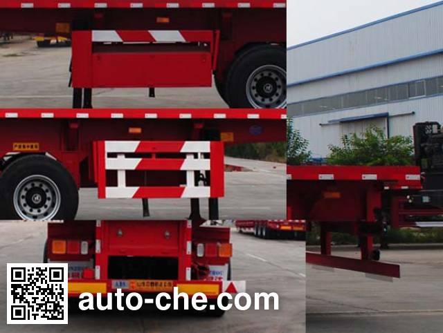 Linzhou YDZ9404ZZXP flatbed dump trailer