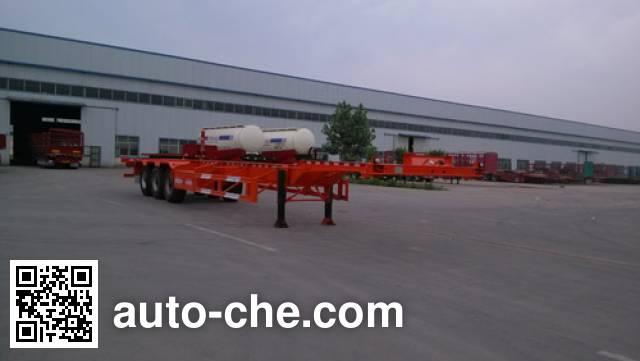 Linzhou YDZ9405TJZ container transport trailer