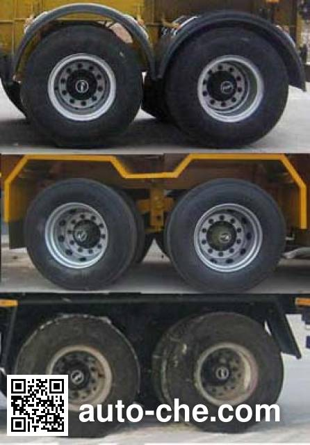 Luyun Wantong YFW9350TJZ container transport trailer