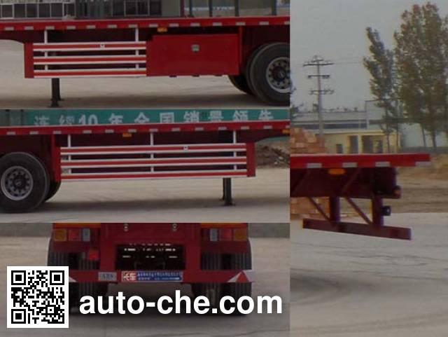 Luyun Wantong YFW9400TPB flatbed trailer