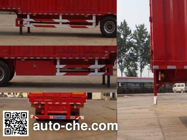 Luyun Wantong YFW9400XXY box body van trailer