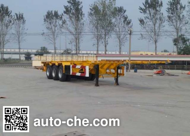 Luyun Wantong YFW9401TJZ container transport trailer
