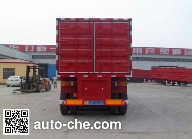 Luyun Wantong YFW9402XXY box body van trailer