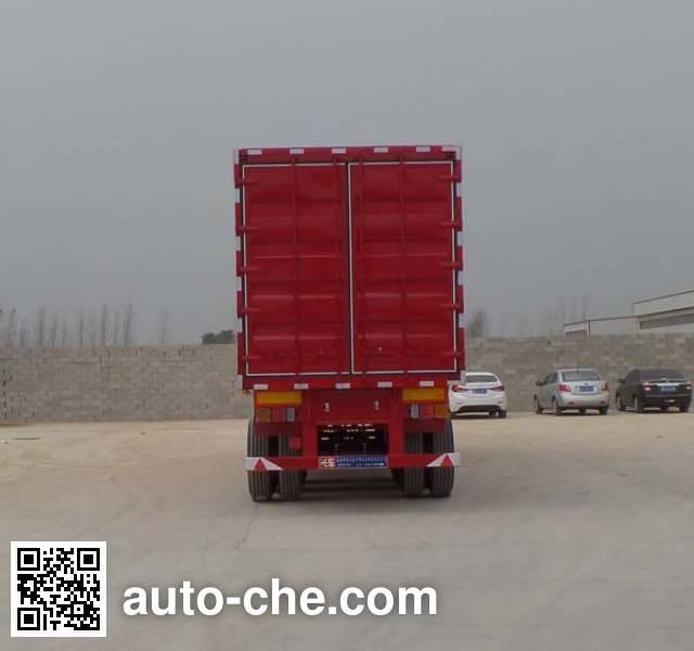 Luyun Wantong YFW9403XXY box body van trailer