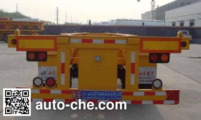 Lufei YFZ9150TJZLF полуприцеп для перевозки порожних контейнеров
