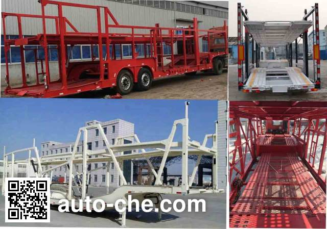 建宇牌YFZ9203TCL车辆运输半挂车