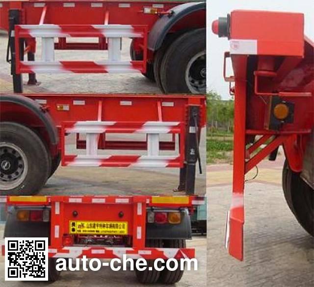 路飞牌YFZ9353TJZG集装箱运输半挂车