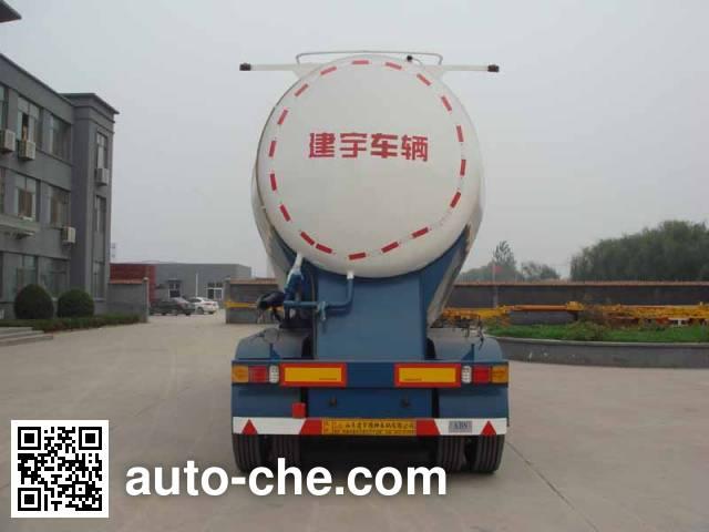 中运牌YFZ9370GFLZY中密度粉粒物料运输半挂车