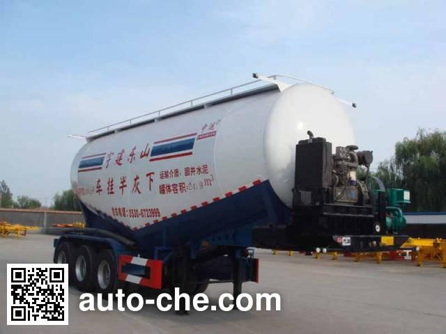Zhongyun YFZ9370GXH ash transport trailer