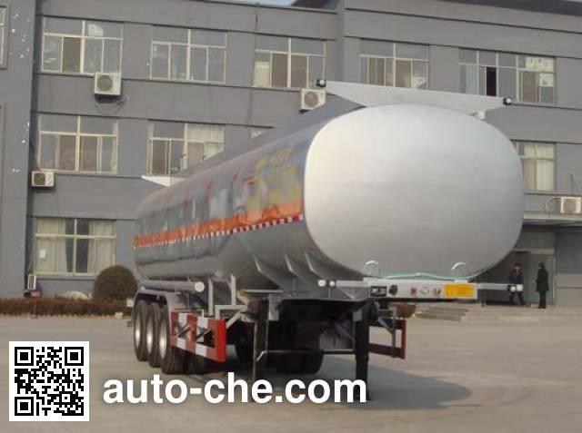 中运牌YFZ9400GRH润滑油罐式运输半挂车