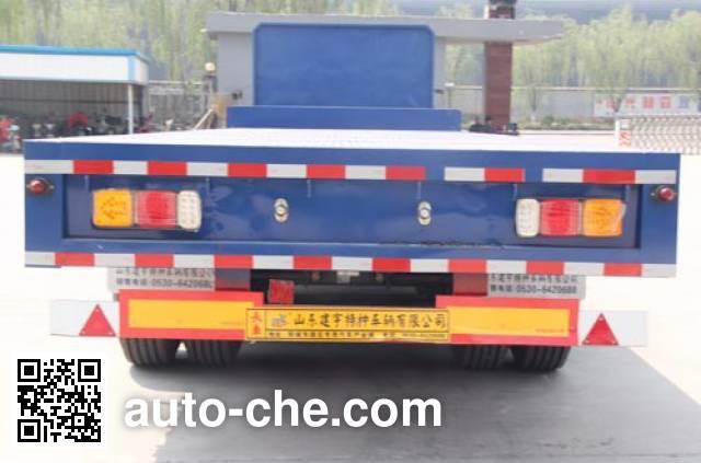 路飞牌YFZ9401TPB平板运输半挂车