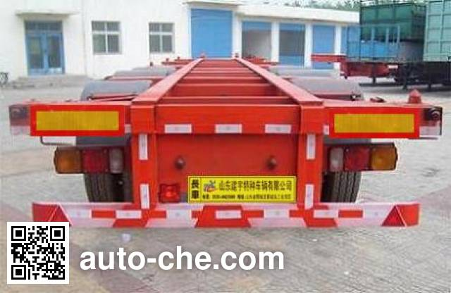 Lufei YFZ9402TJZG container transport trailer