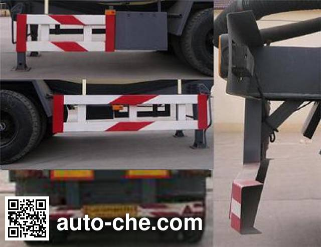 中运牌YFZ9403GFLZY中密度粉粒物料运输半挂车