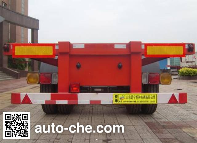 Lufei YFZ9404TJZG container transport trailer