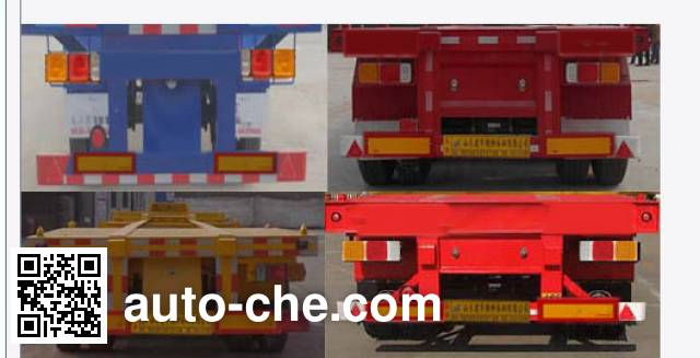 Lufei YFZ9405TJZ container transport trailer