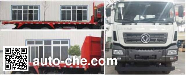 Shenying YG3250AP flatbed dump truck