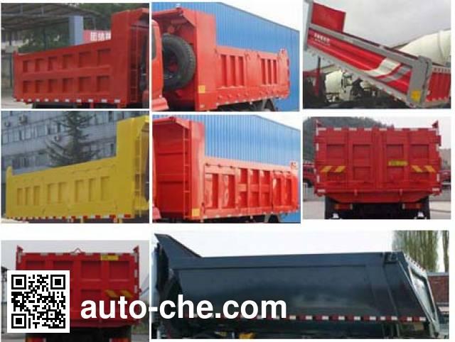 Shenying YG3250BX3A1 dump truck