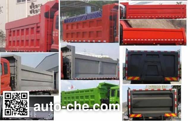 Shenying YG3250BX3B1 dump truck