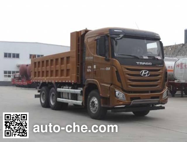 Shenying YG3250KPQ52M dump truck