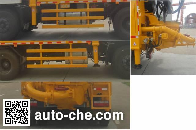 Shenying YG5250TPJGZ4DJ2 concrete spraying truck