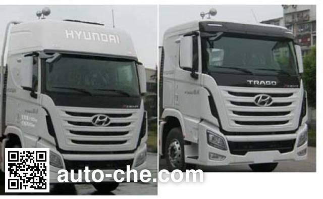 Shenying YG5250TYCKPQ70M pipe transport truck