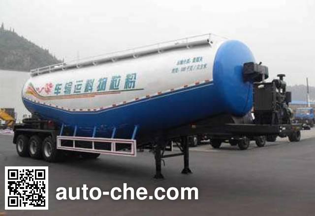 Shenying YG9400GFL low-density bulk powder transport trailer