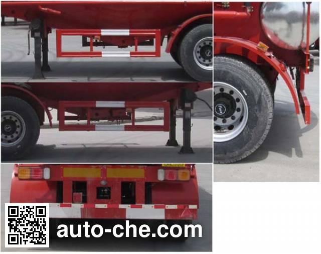 Shenying YG9402GFL medium density bulk powder transport trailer