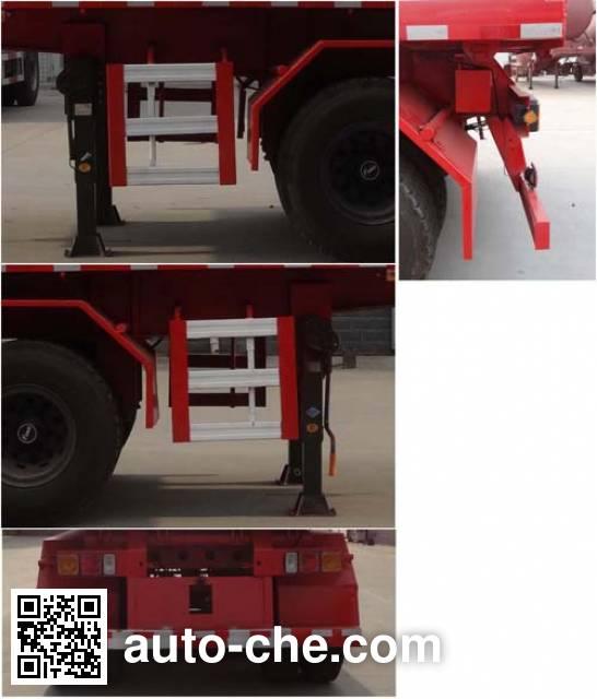 Shenying YG9402ZZXP flatbed dump trailer