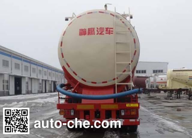 Shenying YG9403GFL low-density bulk powder transport trailer