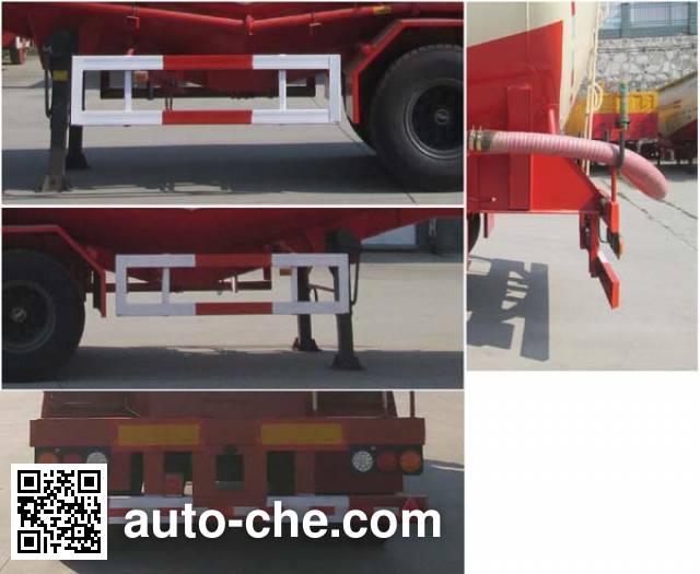 Shenying YG9404GFL low-density bulk powder transport trailer