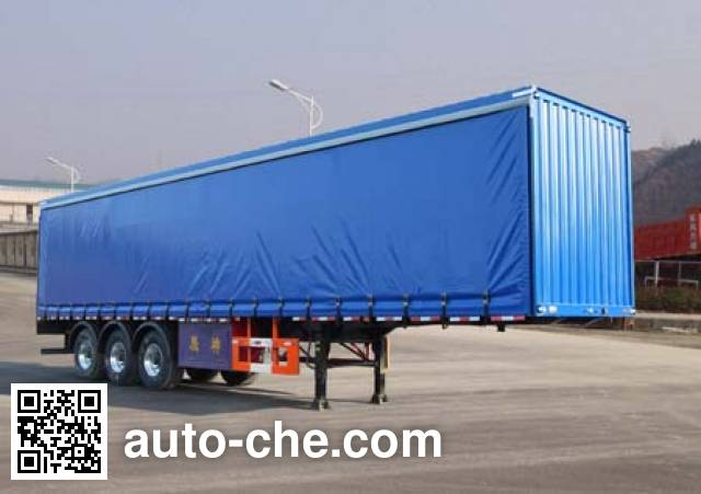Shenying YG9404XXY box body van trailer