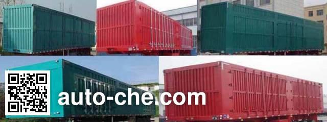 Guangke YGK9403XXY box body van trailer