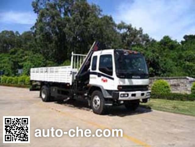 Yuehai YH5150JSQ02 truck mounted loader crane