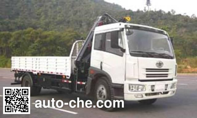 Yuehai YH5160JSQ12 truck mounted loader crane