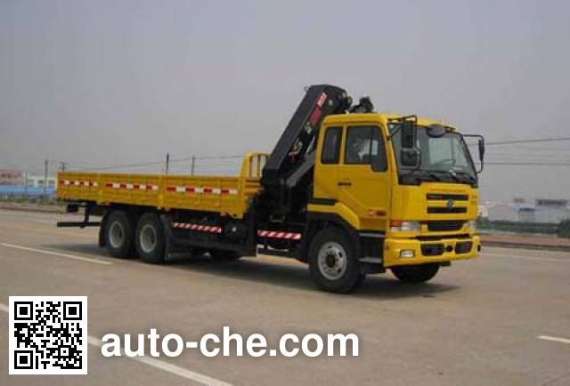 Yuehai YH5253JSQ10 truck mounted loader crane