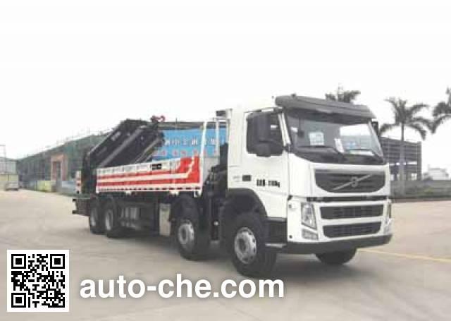 Yuehai YH5310JSQ15 truck mounted loader crane