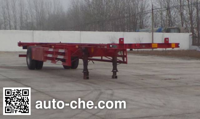Huajing YJH9150TJZ empty container transport trailer