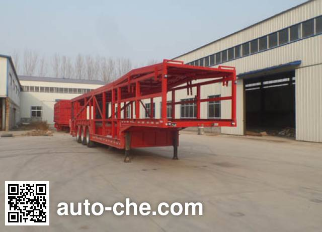 Huajing YJH9201TCL vehicle transport trailer