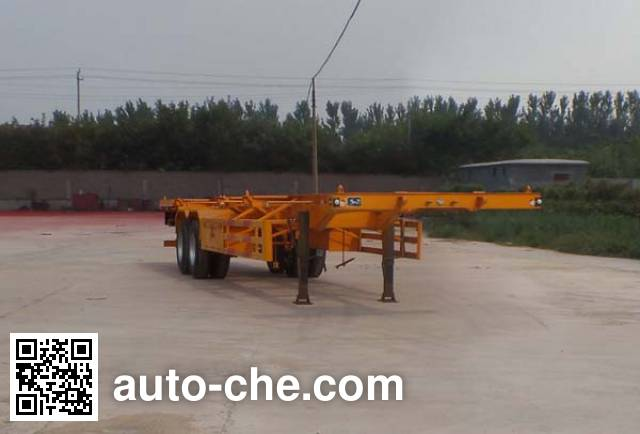 Huajing YJH9350TJZ container transport trailer