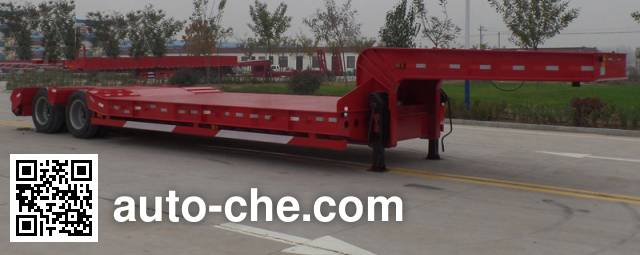 华劲牌YJH9351TDP低平板半挂车